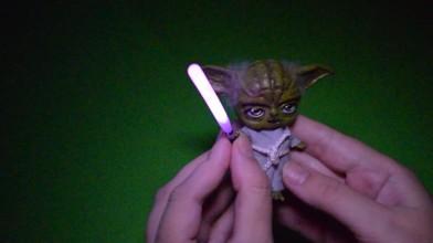 Магистр Йода в миниатюре