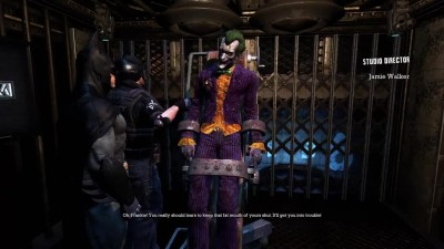 "Batman: Return to Arkham ""Интро - Arkham Asylum"""