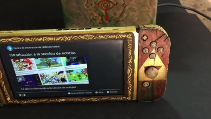 Nintendo Switch косплеит Zelda: Breath of the Wild