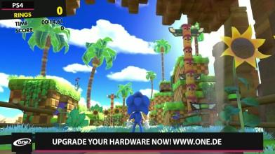 Сравнение частоты кадров и графики - Sonic Forces - PS4 vs. Switch (Candyland)