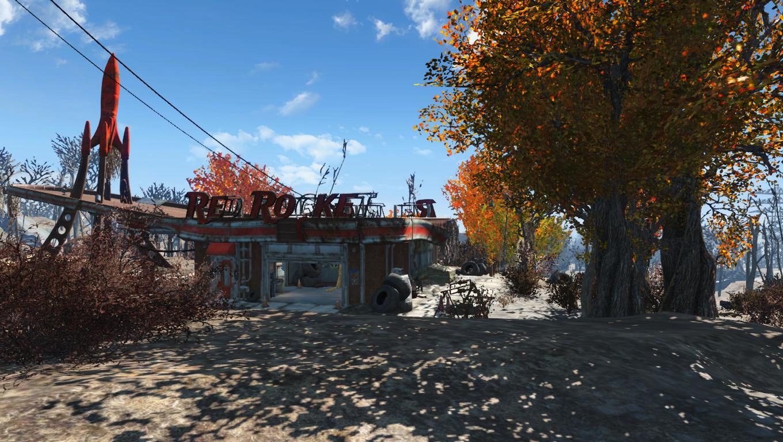 Fallout 4 дерево