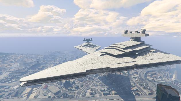 Imperial Star Destroyer Blimp