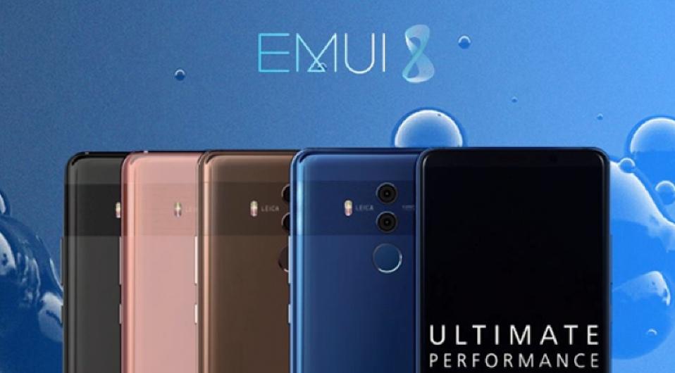 Huawei выпустила анонс свежей программной оболочки EMUI 8.0 для андроид Oreo
