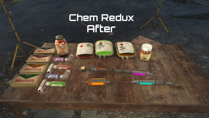 Химикаты после