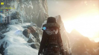FX 8300 и GTX 1060 в игре Rise of the Tomb Raider