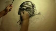 "Modern Warfare 2 ""Рисование Призрака: fast drawing"""