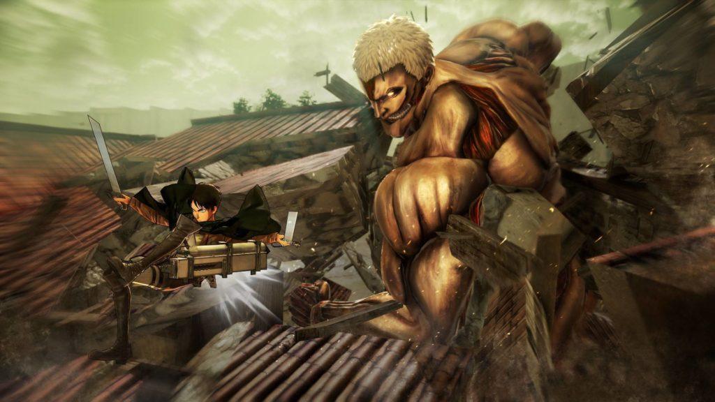 Attack on Titan 2: Final Battle выйдет на Switch