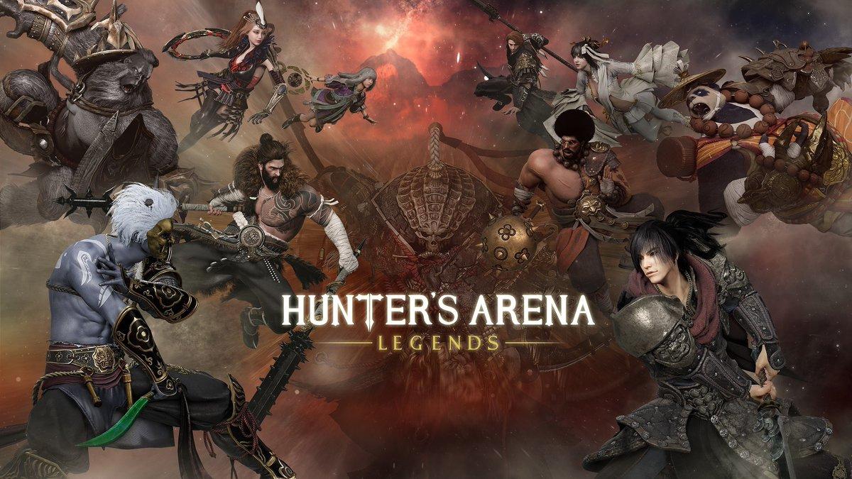 Началось второе закрытое бета-тестирование Hunter's Arena: Legends