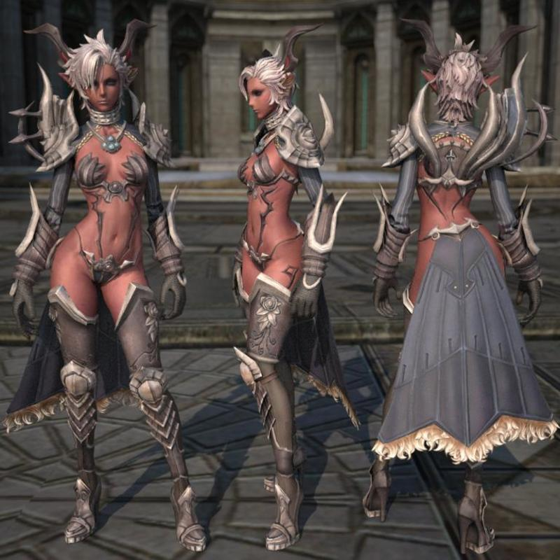 Сексуальная броня для женский персонажей в мморпг играх