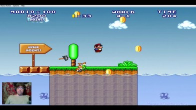 (Mario Forever) Mario Worker Remake (3.0) - Episode by Alex D. - 4. Расслабленное напряжение (на русском)