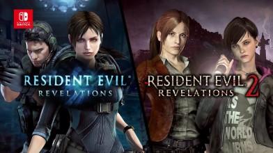 Resident Evil Revelations 1 и 2 Nintendo Switch. Официальный трейлер