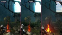 Dark Souls - Сравнение Original vs. DSfix & Mods vs. Remastered (Candyland)