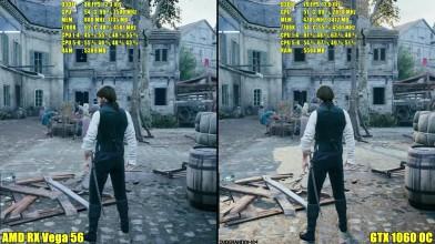 Assassin's Creed Unity AMD RX Vega 56 Stock Vs GTX 1060 OC Сравнение частоты кадров