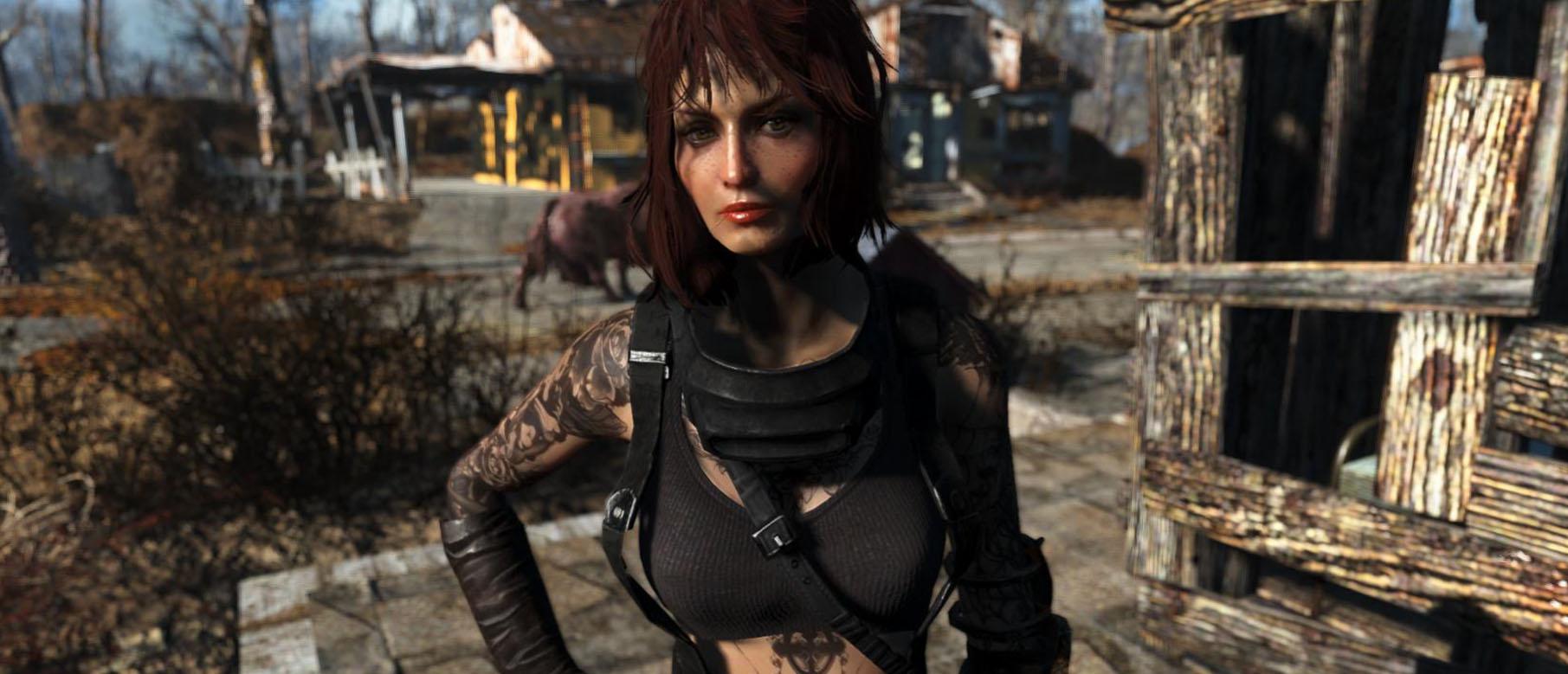 Fallout cait sex mod nude tube