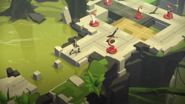 "Lara Croft GO ""Mirror Of Spirits - Релизный трейлер Steam"""