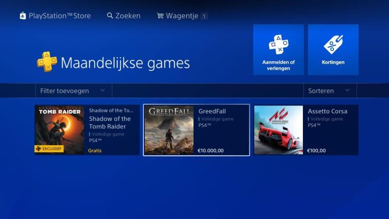 Для солидных господ - стоимость Greedfall в PlayStation Store из-за бага подскочила до 10 тысяч евро