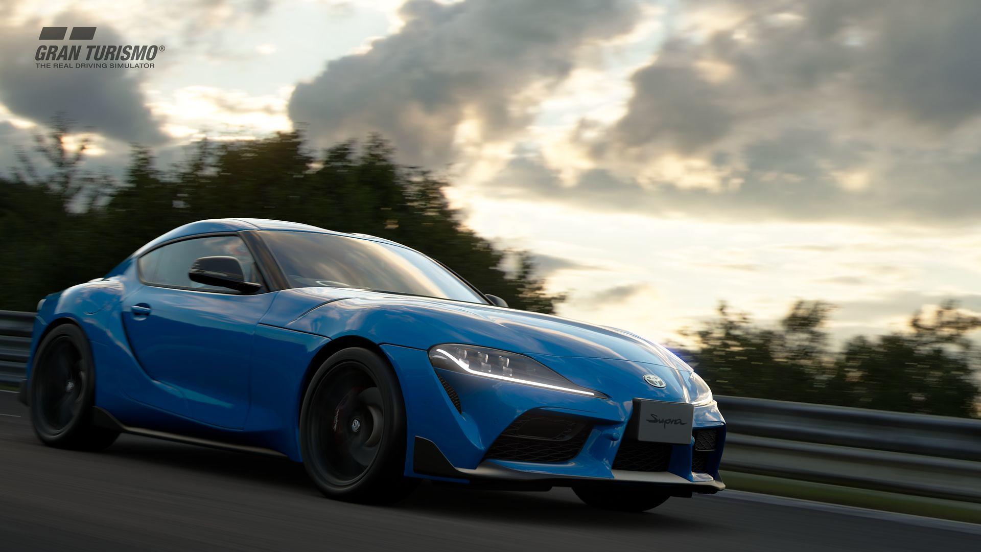 Обновление 1.57 для Gran Turismo Sport станет доступно сегодня и добавит Toyota GR Supra RZ '20