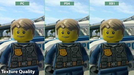 LEGO City Undercover - Сравнение PC vs. PS4 vs. Xbox One (Candyland)