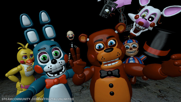 скачать мод five nights at freddy s на гаррис мод