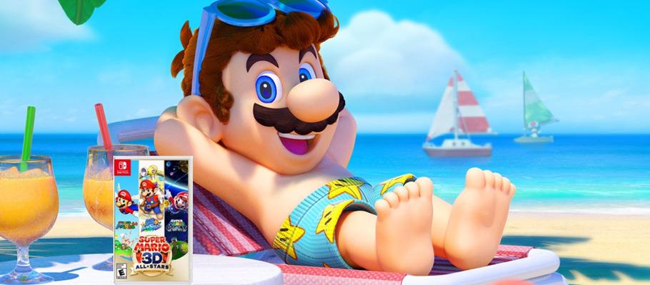 Видеоролики геймплея отдельных игр из сборника Super Mario 3D All-Stars