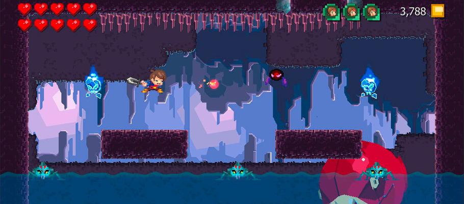 Видео игрового процесса Switch-версии экшен-платформера Adventures of Pip