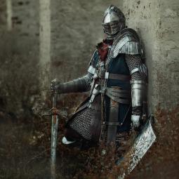 Поклонник Dark Souls создал удивительно точную копию брони рыцаря