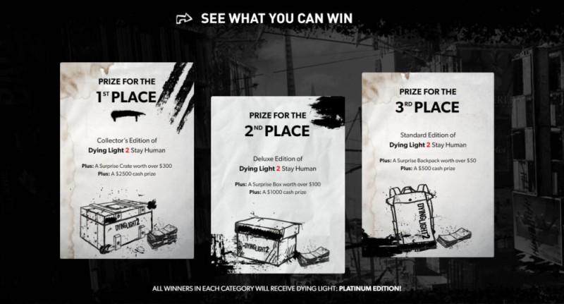 Techland анонсировала конкурсы косплея, сценария и художественных работ для Dying Light 2: Stay Human