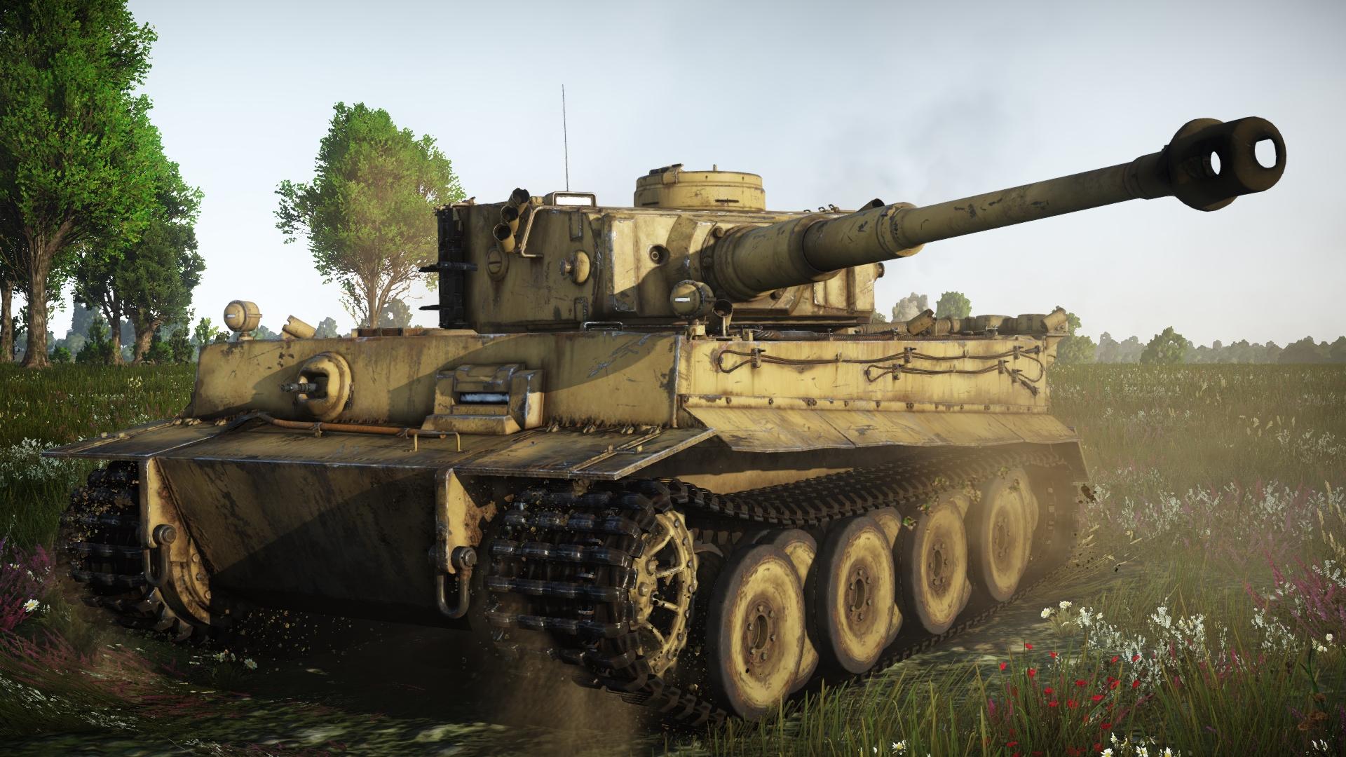 вар тандер танки тигр 1