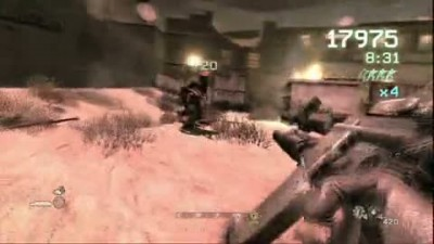 "Call of Duty 4 ""Exclusive Arcade Mode Trailer"""