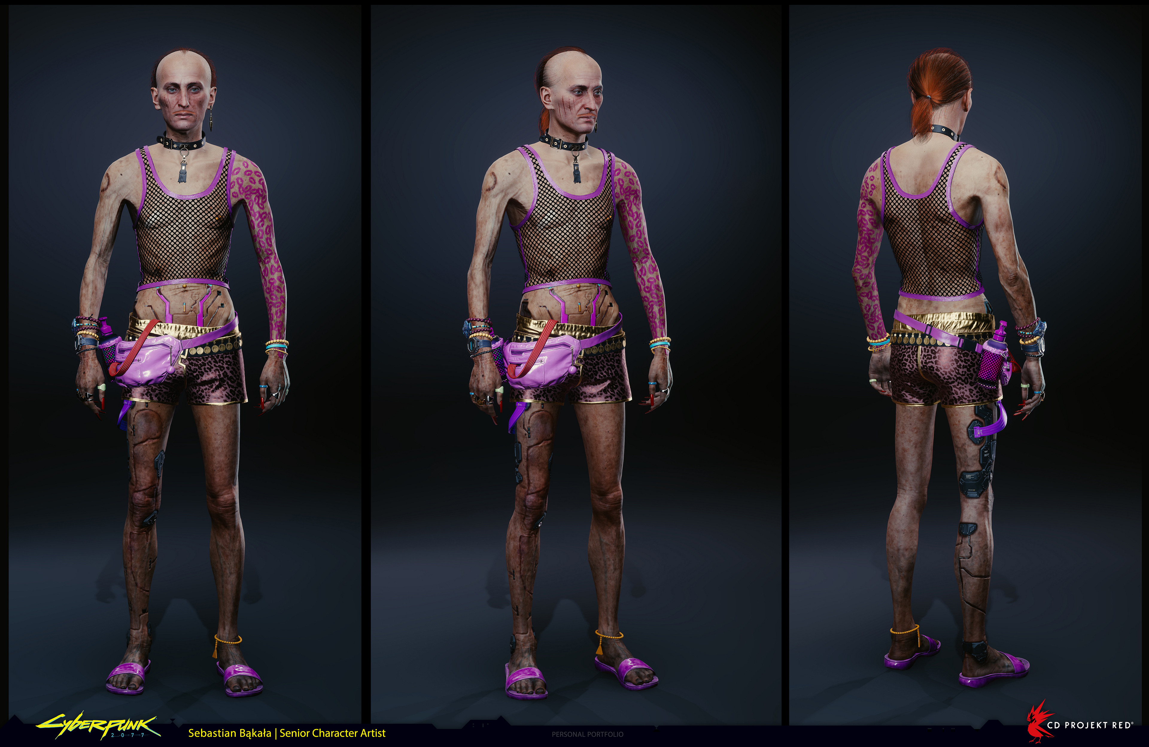 Новые рендеры персонажей Cyberpunk 2077