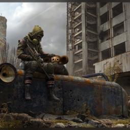 Авторы S.T.A.L.K.E.R. 2 по достоинству оценили арт с изображением Чебурашки в мрачном постапокалипсисе