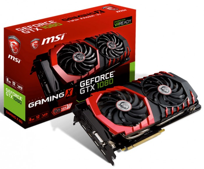 MSI GeForce GTX 1080