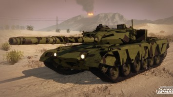 Новые ОБТ в Armored Warfare