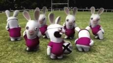 "Rayman Raving Rabbids "" Rugby"""