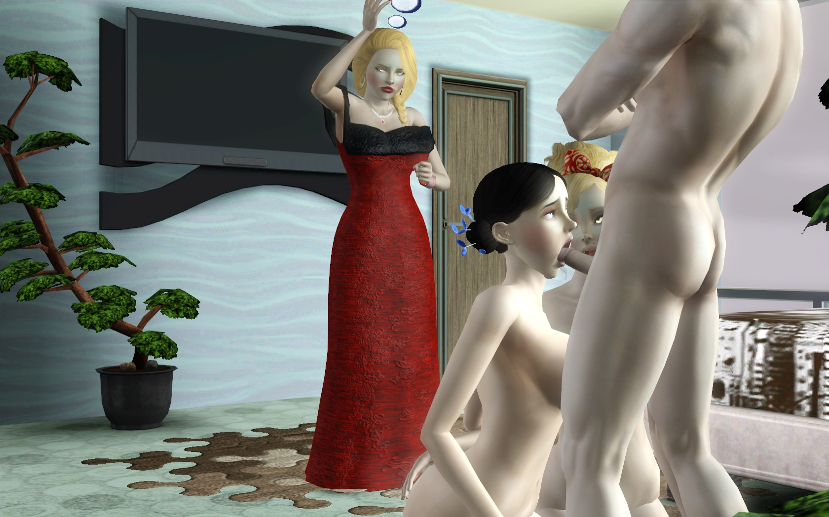 Sex mod v the sims 3 exposed pic