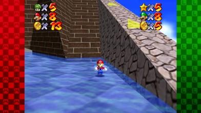 """Super Mario 64 """"Мультиплеер. Часть 2: Luigi's Fortress of Death!(2 Игрока)"""