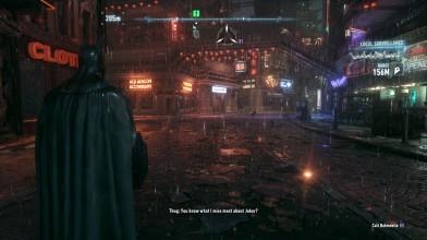 Batman: Arkham Knight запустили с трассировкой лучей