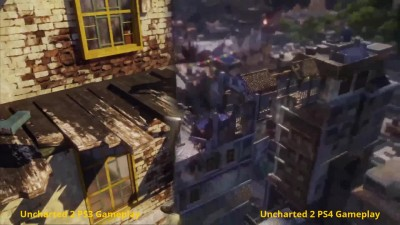 "Uncharted: The Nathan Drake Collection ""Сравнение версий PS4 vs PS3"""