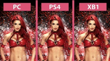 Графика в WWE 2K16 - PC vs. PS4 vs. Xbox One