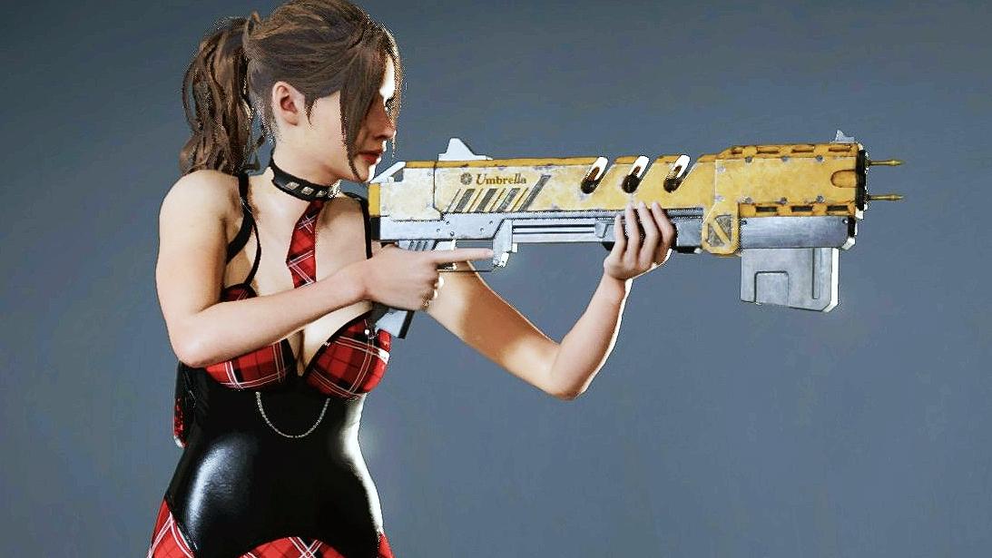 """Мод """"Студентка Клэр"""" для Resident Evil 2 Remake"""