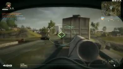 "Battlefield Play4Free ""Пушка геймплей"""