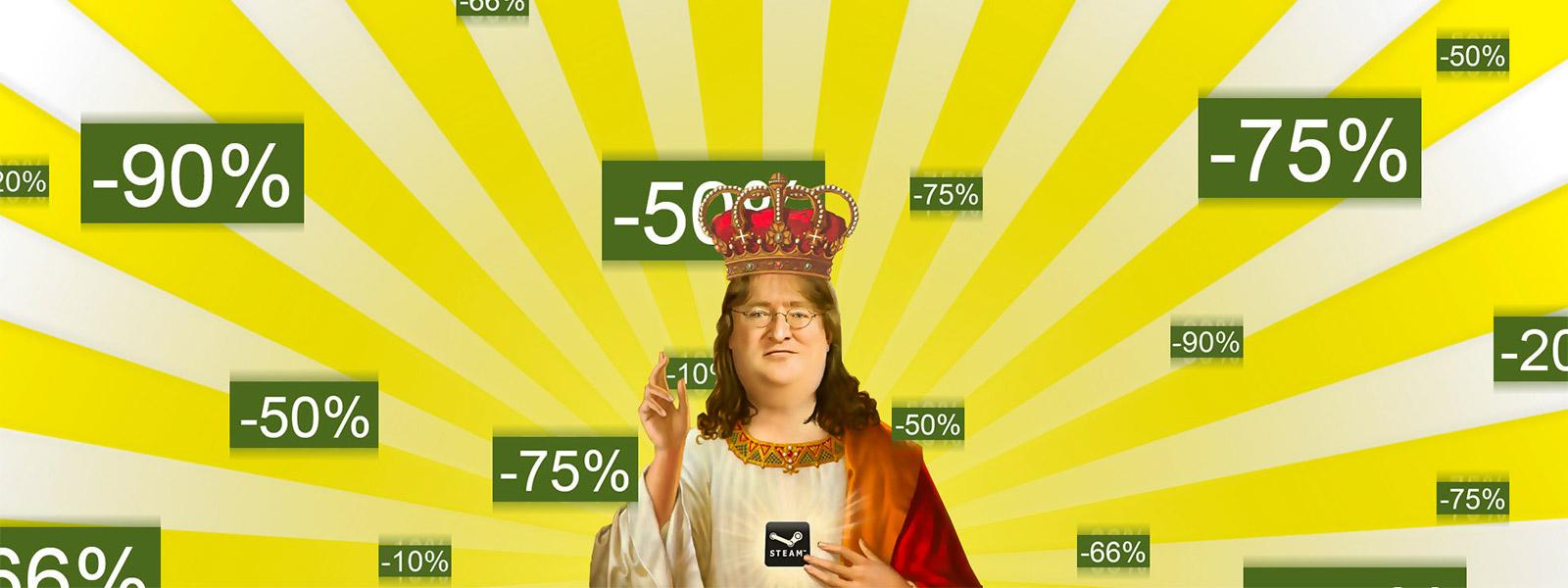 Осенняя распродажа Steam начнётся 25 ноября в 21:00 по МСК
