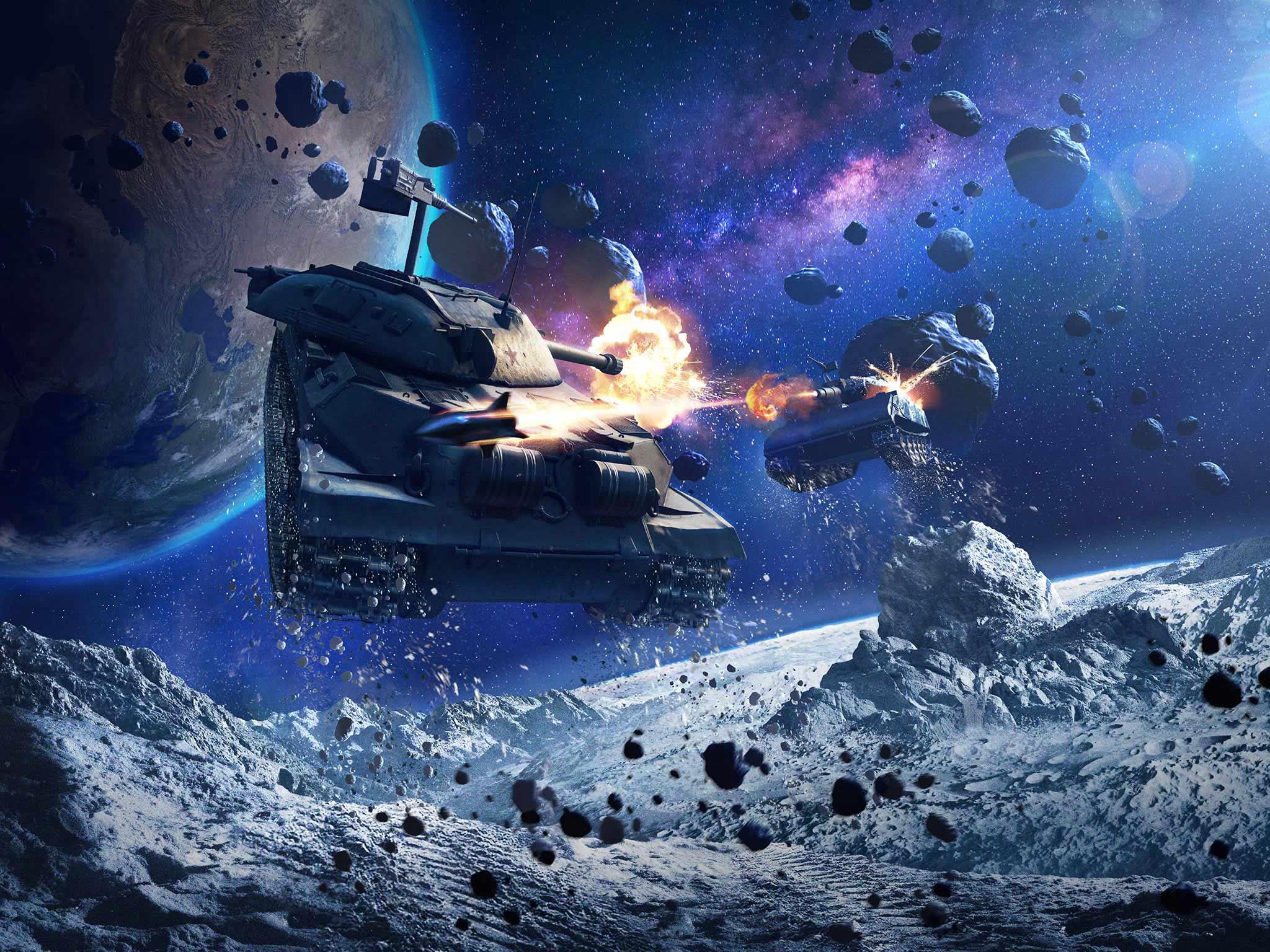 World of Tanks Blitz запускает режим 'Гравитация', участвуя в котором можно выиграть участок на настоящей Луне