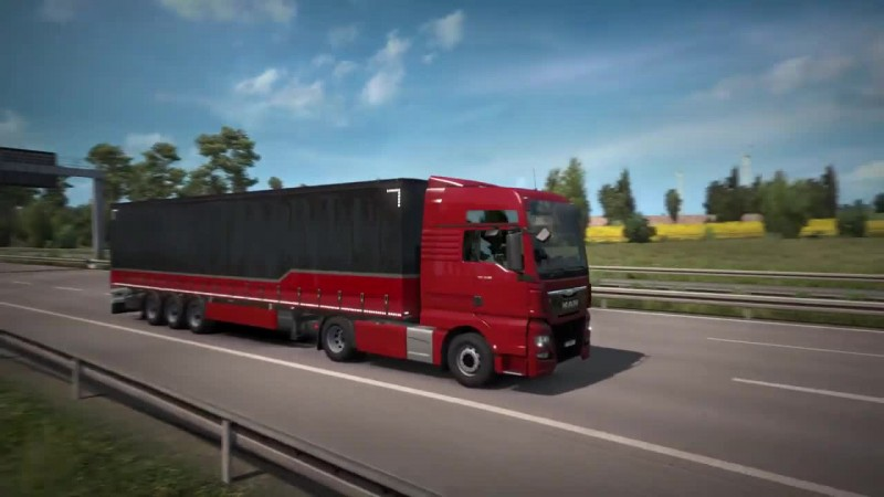 MAN TGX Euro 6 в Euro Truck Simulator 2