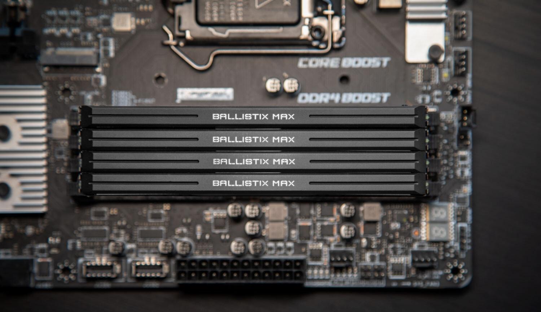 Игровая память Crucial Ballistix MAX 5100 теперь доступна всем желающим