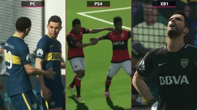 PES 2018 - Сравнение PC vs. PS4 vs. Xbox One (Candyland)