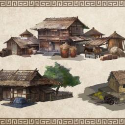Домовладение в Age of Wushu 2 17200
