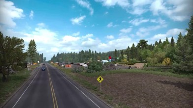 Обзор DLC Oregon для American Truck Simulator.