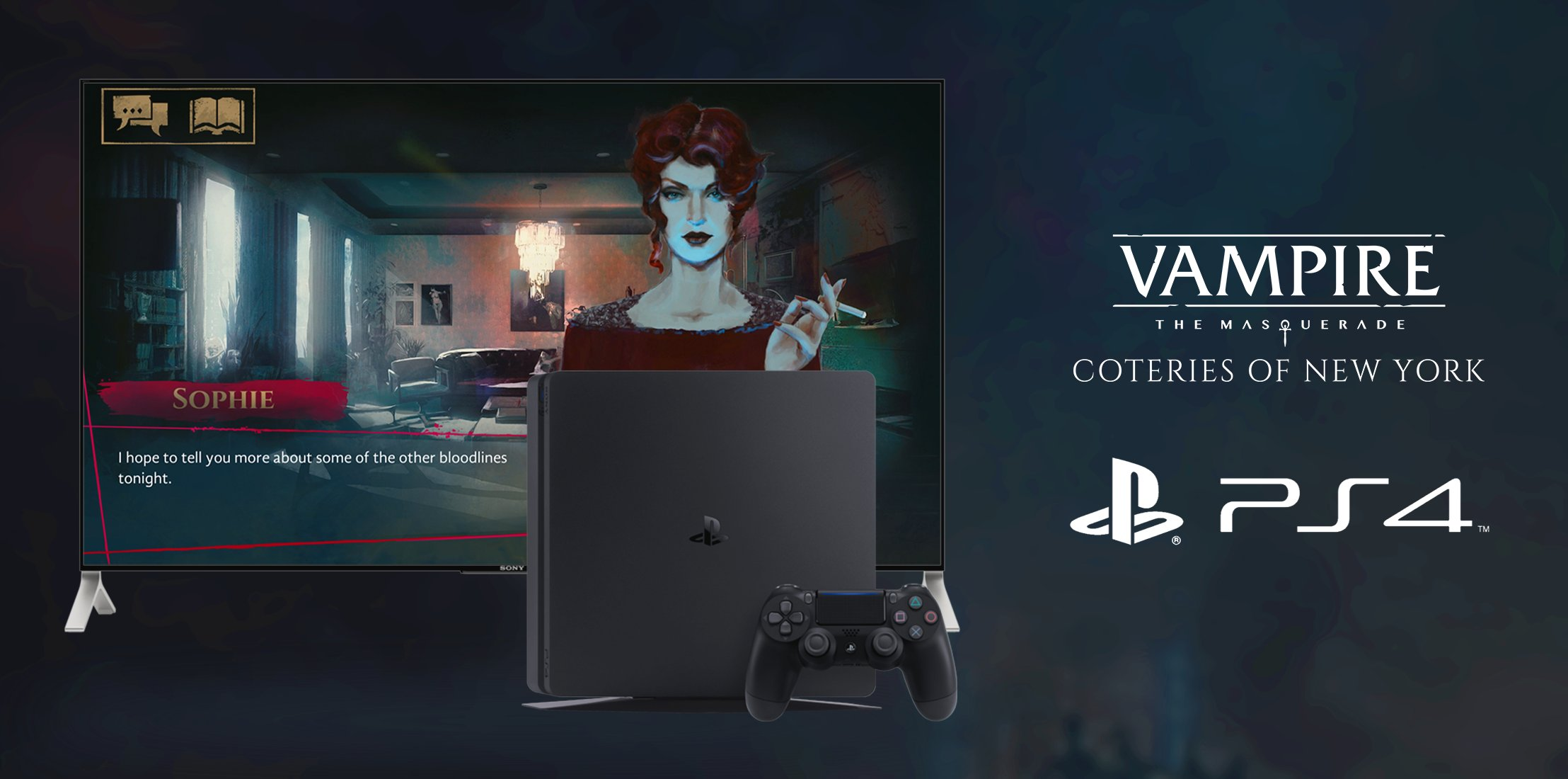 Vampire: The Masquerade - Coteries of New York выйдет на PS4 25 марта