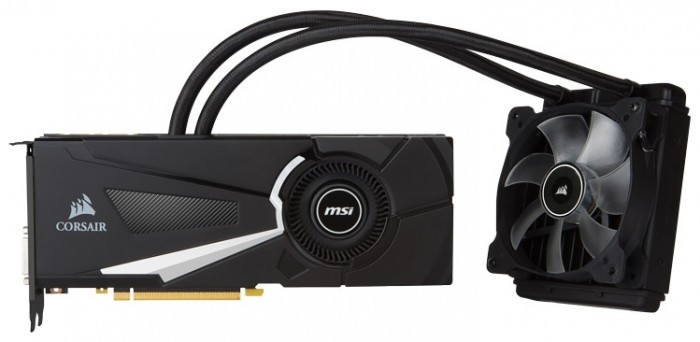 Видеокарта MSI GeForce GTX 1080 Sea Hawk